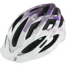 CAPACETE SCOTT WATU CONTESSA WHITE/PURPLE